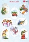 Marianne Design Klippark - Christmas Robins