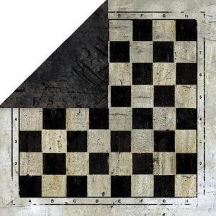 Craft & You - Dubbelsidigt papper - Vintage Man 04, 30x30 cm - Craft & You - Dubbelsidigt papper - Vintage Man 04, 30x30 cm