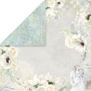 Craft & You - Dubbelsidigt papper - Sweet Time 06 - 30x30 cm - Craft & You - Dubbelsidigt papper - Sweet Time 06 - 30x30 cm