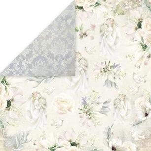 Craft & You - Dubbelsidigt papper - Sweet Time 04 - 30x30 cm - Craft & You - Dubbelsidigt papper - Sweet Time 04 - 30x30 cm