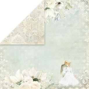 Craft & You - Dubbelsidigt papper - Sweet Time 01 - 30x30 cm - Craft & You - Dubbelsidigt papper - Sweet Time 01 - 30x30 cm