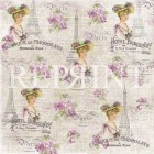 Reprint - Lilac Paris Collection - French lady