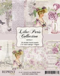 Reprint - Pappersblock - Lilac Paris Collection - Reprint - Pappersblock - Lilac Paris Collection