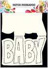 Dutch Doobadoo Card Art stencil - Baby A5