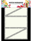 Dutch Doobadoo Card Art stencil - Diagonal Fold A5