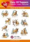 Easy 3D Utstansat - Deer in Winter