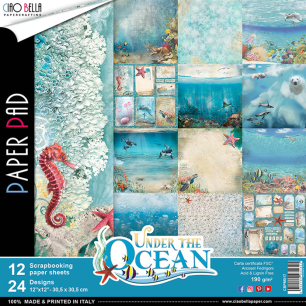 Ciao Bella Papeercrafting - Paper Pad - Under The Ocean - Ciao Bella - Paper Pad - Under The Ocean