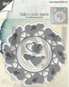 Joy Craft Dies - Billé s circle hearts - Joy Craft Dies - Billé s circle hearts