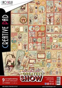 Ciao Bella Papercrafting - A4 - Createst Show - Ciao Bella Papercrafting - A4 - Createst Show