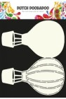 Dutch Doobadoo Card Art stencil - Airballoon