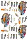 Dan design 3D Klippark - Målarpalett