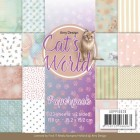 Amy Design Pappersblock - Cats World
