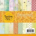 Jeaninés Art Pappersblock - Buzzing Bees