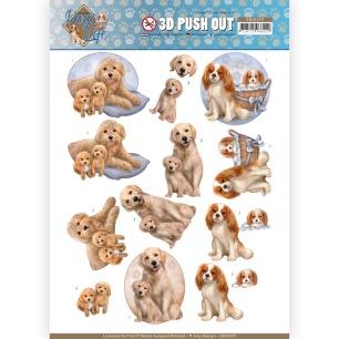 Amy Design 3D Utstansat - Dogs Life - Dog Mommy - Amy Design 3D Utstansat - Dogs Life - Dog Mommy