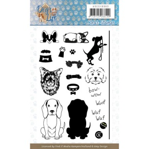 Amy Design - Clearstamp - Dogs Life - Amy Design - Clearstamp - Dogs Life