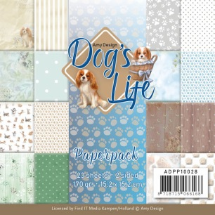 Amy Design Pappersblock - Dogs Life - Amy Design Pappersblock - Dogs Life