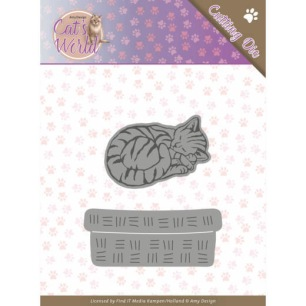 Amy Design - Dies - Cats - Sleeping Cats - Amy Design - Dies - Cats - Sleeping Cats