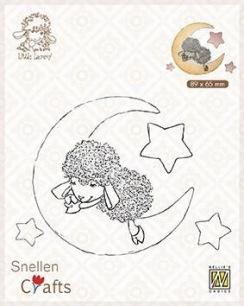 Nellie Snellen - Clearstamps - Little Lammy - Lammy in Dreamland - Nellie Snellen - Clearstamps - Little Lammy - Lammy in Dreamland