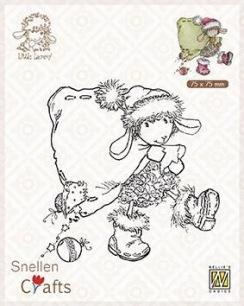 Nellie Snellen - Clearstamps - Little Lammy - Santa Lammy - Nellie Snellen - Clearstamps - Little Lammy - Santa Lammy