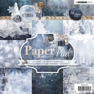 Studiolight Pappersblock - Snowy Afternoon - Studiolight Pappersblock - Snowy Afternoon
