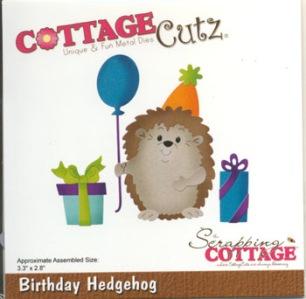 Cottage Cutz Dies - Igelkott med presenter - Cottage Cutz Dies - Igelkott med presenter