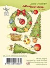 Leane Creative - Clearstamp - Christmas decoration