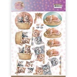 Amy Design 3D Klippark - Katter i korg - Amy Design 3D Klippark - Katter i korg