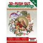 Cardbook - 3D utstansat - Warm Christmas Feelings no 17
