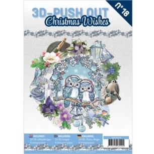 Cardbook - 3D utstansat - Christmas Wishes no 18 - Cardbook - 3D utstansat - Christmas Wishes no 18