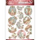 Jeaninés Art 3D Utstansat - Lovely Christmas - Lovely Christmas Pets