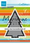 Marianne Design - Dies - Cross Stich - Christmas Tree