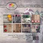 Dixi Craft Pappersblock - Christmas Background