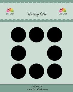 Dixi Craft - Dies - 2,5cm Hole dies - Dixi Craft - Dies - 2,5cm Hole dies