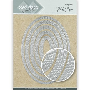 Card Deco - Dies - Stitch Ellipse - Card Deco - Dies - Stitch Ellipse