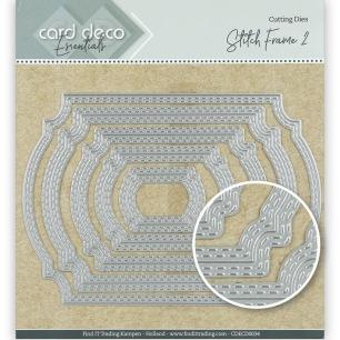 Card Deco - Dies - Stitch Frame 2 - Card Deco - Dies - Stitch Frame 2
