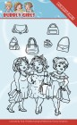 Yvonne Creation - Clearstamp - Bubbly Girls - Gone Shopping