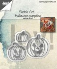 Joy Craft - Dies - Halloween pumpkins