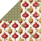 Craft & You - Dubbelsidigt papper - Vintage Christmas 06