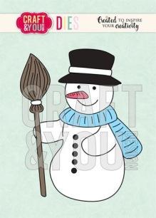 Craft & You - Dies - Snowman - Craft & You - Dies - Snowman