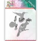 Yvonne Creations Dies - Happy Tropci - Exotic Birds