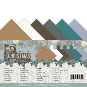 Amy Design - Pappersblock - Christmas Wishes - Amy Design - Pappersblock - Christmas Wishes