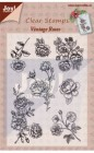 Joy Crafts - Clearstamps - Vintage Roses