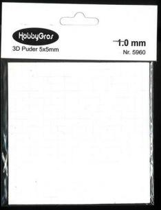 3D Häftkuddar - 1 mm - 3D Häftkuddar - 1 mm