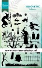 Marianne Design Clearstamp - Silhouette Halloween