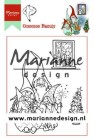 Marianne Design Clearstamps - Hetty´s Gnomes Family