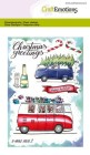 CraftEmotions - Clearstamps A6 - X-mass cars 2