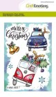CraftEmotions - Clearstamps A6 - X-mass cars 1