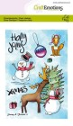 CraftEmotions - Clearstamps A6 - Snowy & friends 2