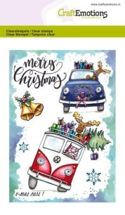 CraftEmotions - Clearstamps A6 - X-mass cars 1 - CraftEmotions - Clearstamps A6 - X-mass cars 1