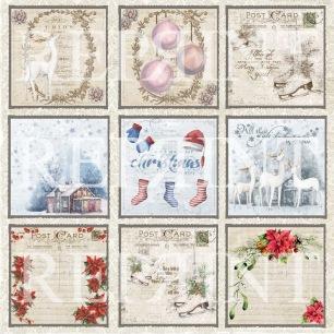 Reprint - Christmas Time Tags 1 - Reprint - Christmas Time Tags 1